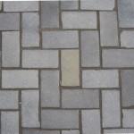 Herringbone cobblestone