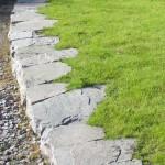 Random image: Stone lawn edging
