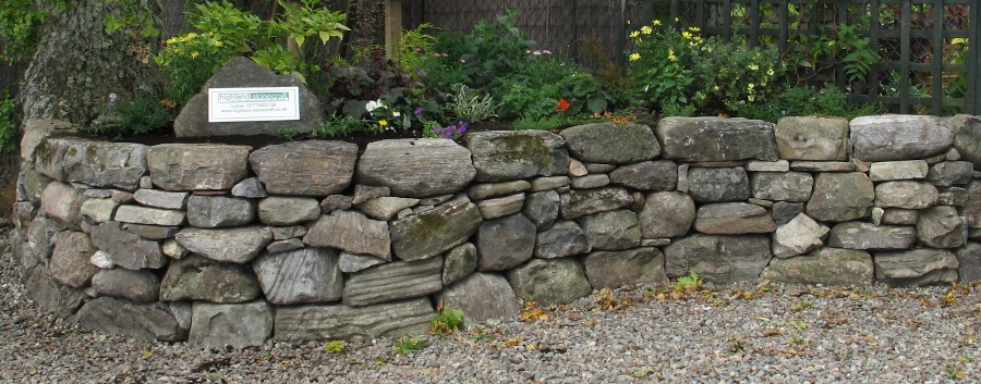 Raised Stone Flower Beds images