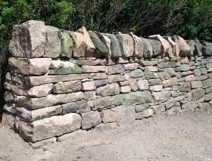 Dry Stone Wall End Highland Stonecraft