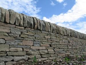 Dry Stone Wall Dressed Cope Highland Stonecraft