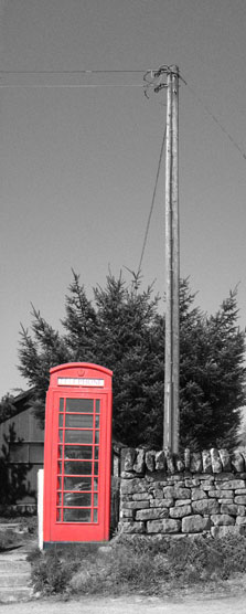 Telephone Box Highland Stonecraft