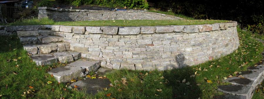 Dunbeath highland stonecraft for Terrace steps