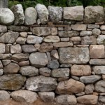 Woodside dry stone wall