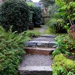 Random image: Garden steps