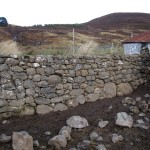 Fank retaining wall