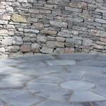 Curlicue circular paving
